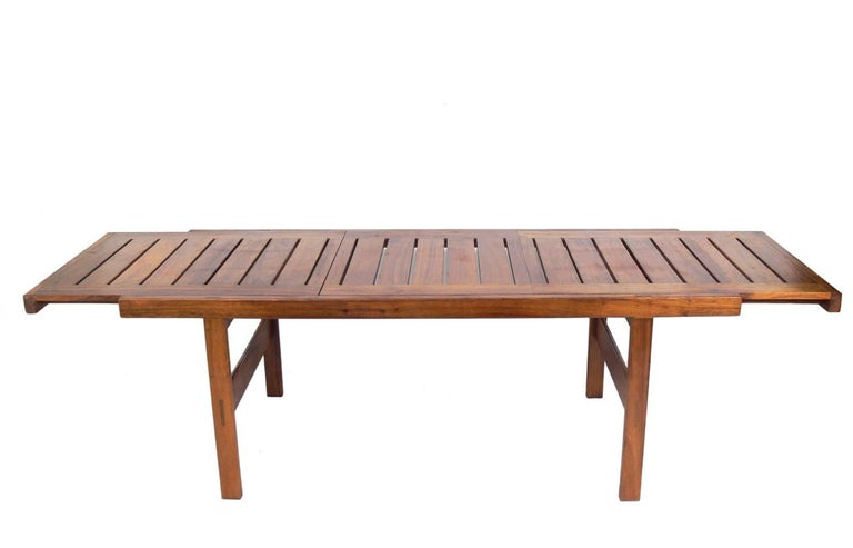 Mid-20th Century Clean Lined Midcentury Dining Table by John Tabraham For Sale