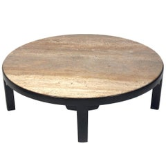 Clean Lined Modern Coffee Table by Edward Wormley for Dunbar