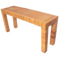 Clean Lined Reed Console