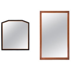Clean Lined Selection of Mirrors by Donald Deskey and Paul Frankl
