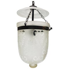 Clear Glass Bell Jar Hall Lantern