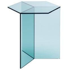 "Clear Glass ""Isom Tall"" Coffee Table, Sebastian Scherer"