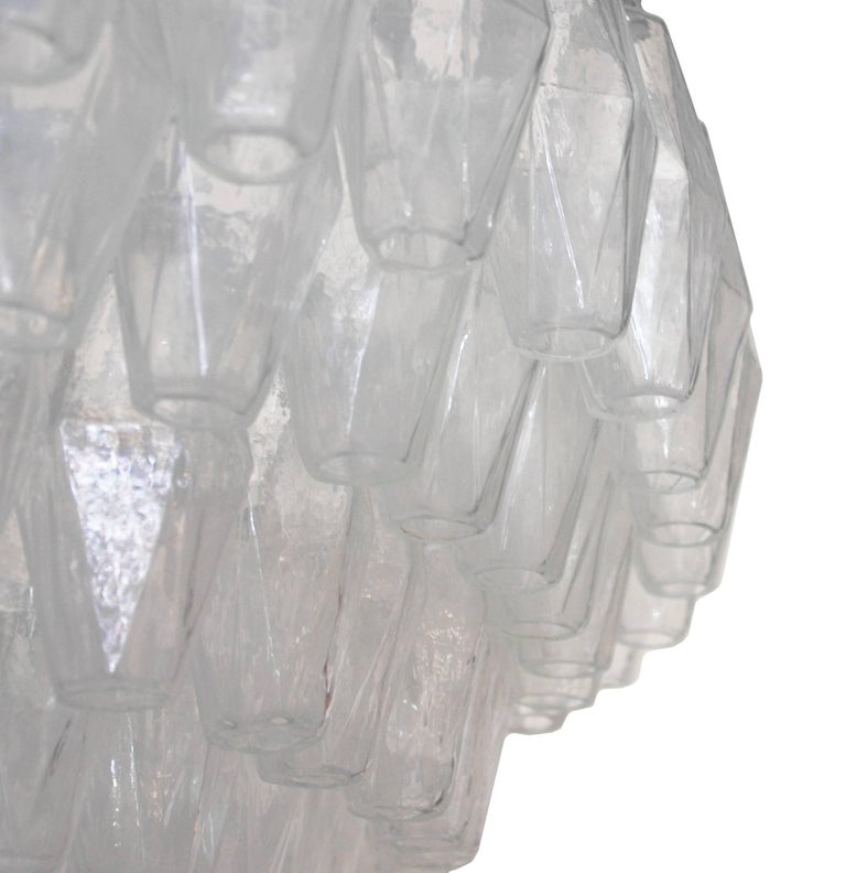 Murano Glass Poliedri Chandelier by Fabio Ltd For Sale