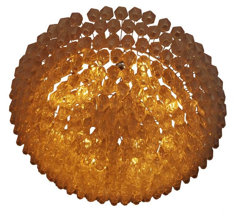 Poliedri Chandelier by Fabio Ltd For Sale 1