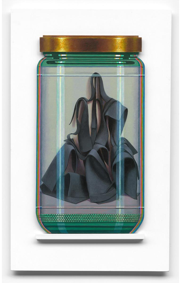 Clement Kamena Still-Life Painting - Morris 1P