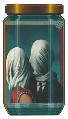 """CK- Magritte 1PL  """"The Lovers"""""""