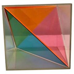 Clement Meadmore 'Rainbow Box' Objet d'Art, 1970's