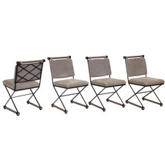Cleo Baldon Style Set of Four Dining/Game Chairs, 1960s
