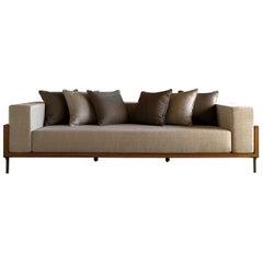 Cleo Beige 3-Seat Sofa by Talenti