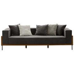 Cleo Gray 3-Seat Sofa by Talenti