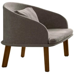 Cleo Gray Lounge Armchair by Talenti
