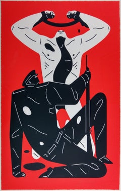 The Collaborator, Red, Cleon Peterson Contemporary Urban Art Print