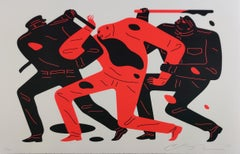 The Disappeared, White, Cleon Peterson, Street Art Print