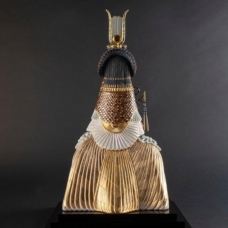 Spanish Cleopatra Sculpture. Limited Edition. For Sale