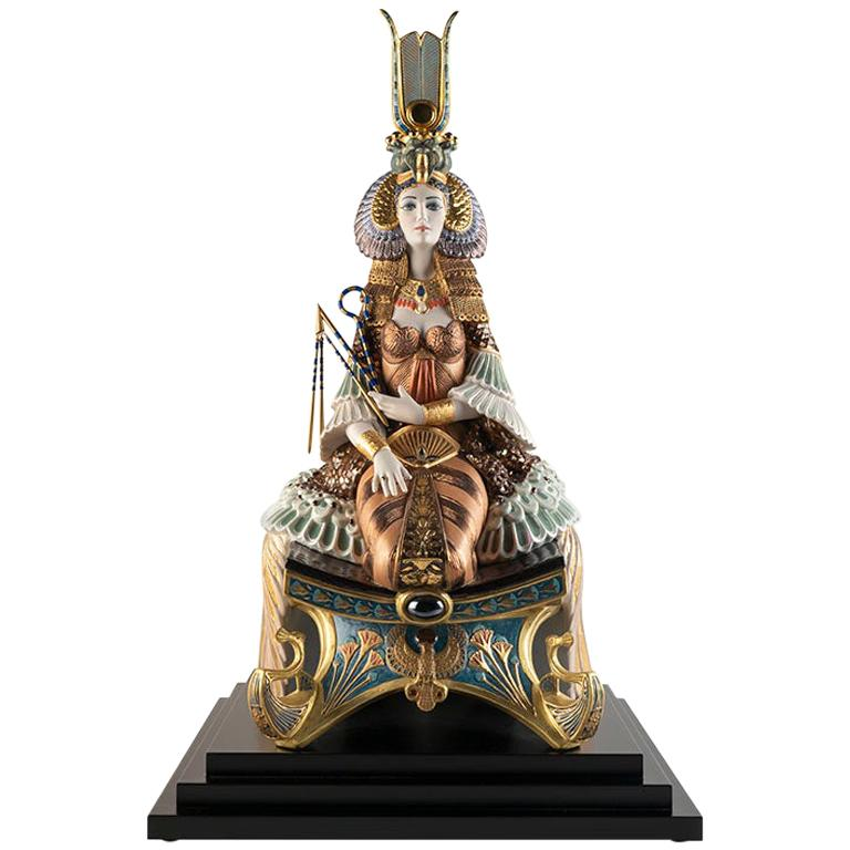 Cleopatra Sculpture. Limited Edition.