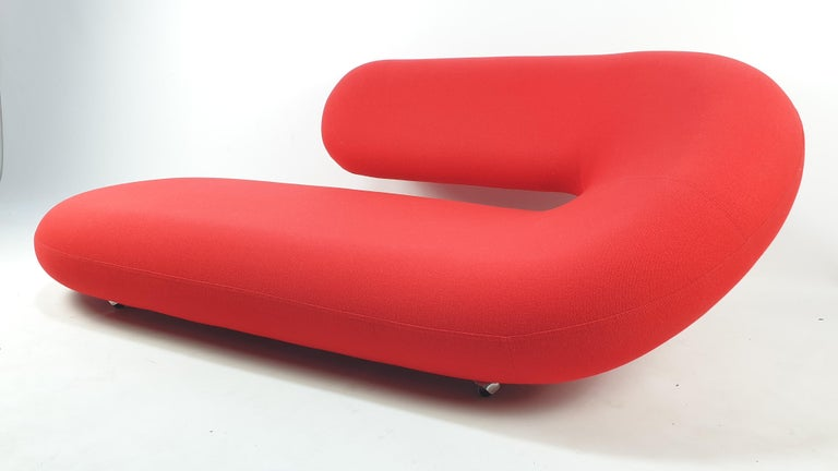 Cleopatra Sofa by Geoffrey Harcourt for Artifort, 1970s In Good Condition For Sale In Oud Beijerland, NL