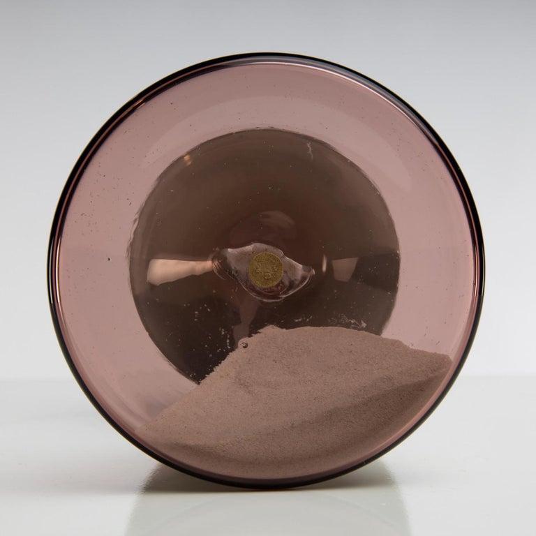Late 20th Century Clessidra Hourglass, Paolo Venini, Venini Murano 'Italy' For Sale