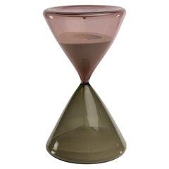 Clessidra Hourglass, Paolo Venini, Venini Murano 'Italy'
