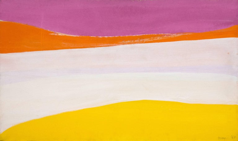 Cleve Gray Abstract Painting - Bright Day