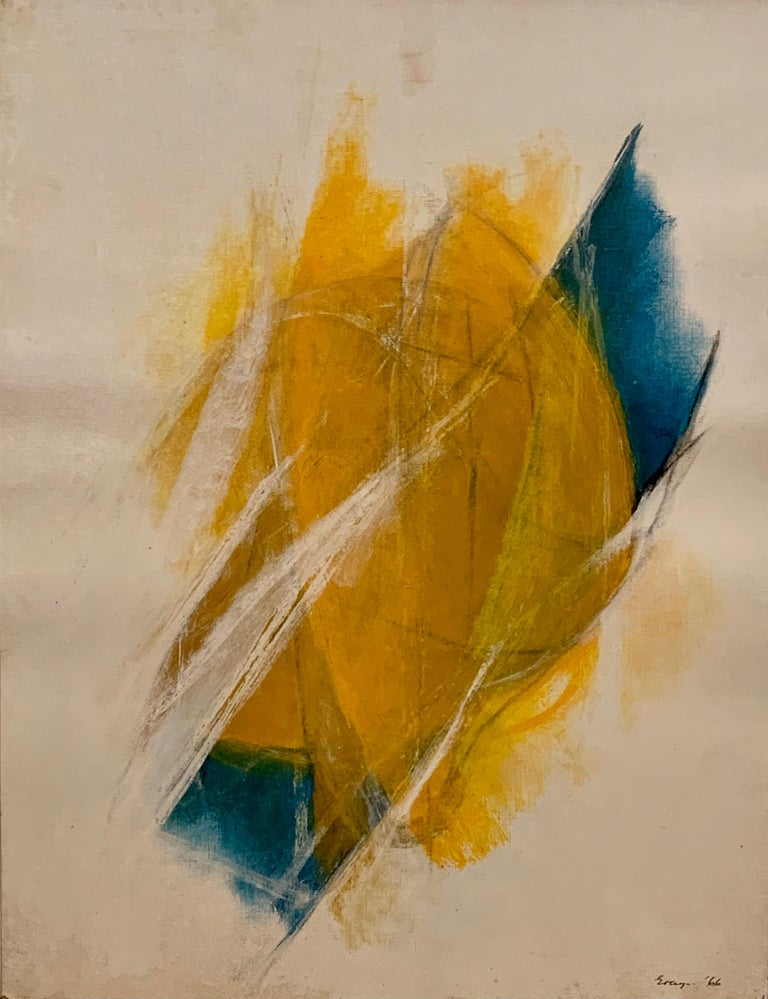 Cleve Gray Abstract Painting - Ceres I