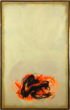 """""""Conjugation #174"""" by Cleve Gray, Abstract Painting, Acrylic on Canvas, 1976"""