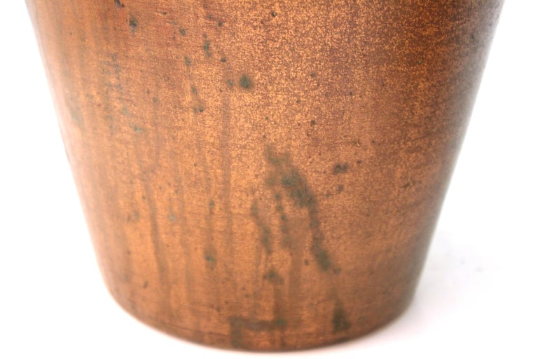 Clewell American Arts & Crafts Vases in Copper-Clad Ceramic For Sale 5