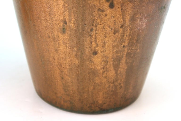 Clewell American Arts & Crafts Vases in Copper-Clad Ceramic For Sale 4