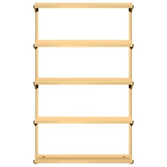 Click 5 Large Shelf Solid Brass - New Tendency