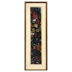 Clifton Karhu Limited Edition Japanese Woodblock Print Hong Kong II, 1969