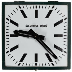 Turn of the Century French Industrial Clock