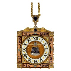 Clock Pendant by the House of Cazzaniga, c. 1970