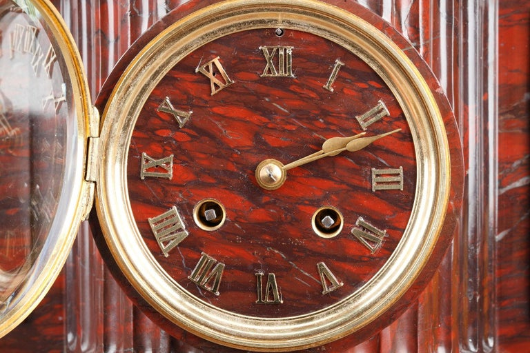 19th Century Clock Shepherds of Arcadia by Aizelin and Barbedienne For Sale