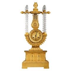 Clock with the Bust of Apollo