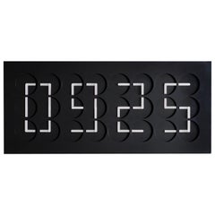 ClockClock 24 'Black' Kinetic Wall Sculpture by Humans Since 1982