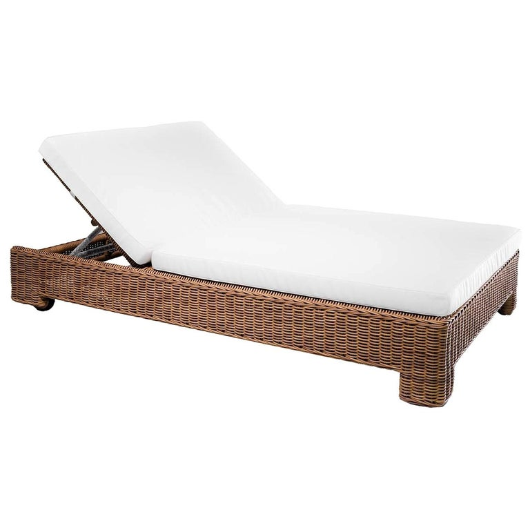 Cloe Double Chaise Lounge By Braid, Double Chaise Lounge Outdoor
