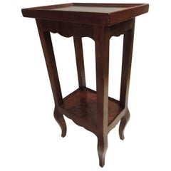 CLOSE OUT SALE: Antique Small Saber Leg Telephone Table