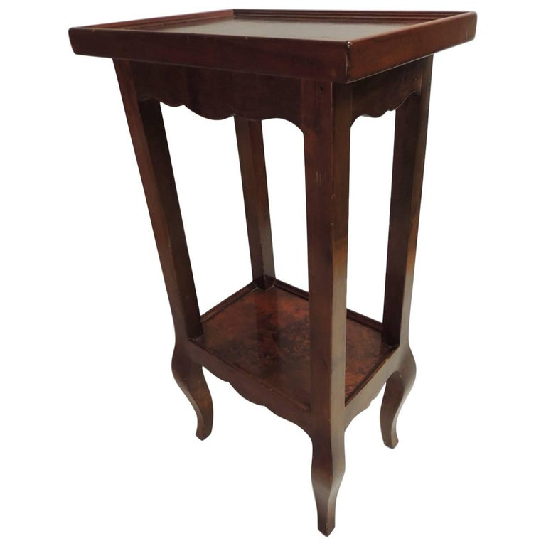 CLOSE OUT SALE: Antique Small Saber Leg Telephone Table At