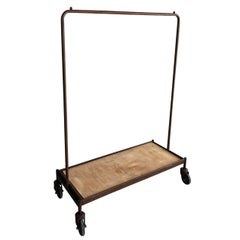 Clothes Hanger Industrial Iron Wheeled Trolleys, Different Sizes Available