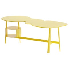 Cloud Desk Yellow Dreamy Work Table by Reisinger Andres