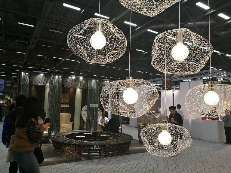 Cloud Modern Pendant Light Within the Jewellery Series of Lighting by Ango In New Condition For Sale In Bangkok, TH