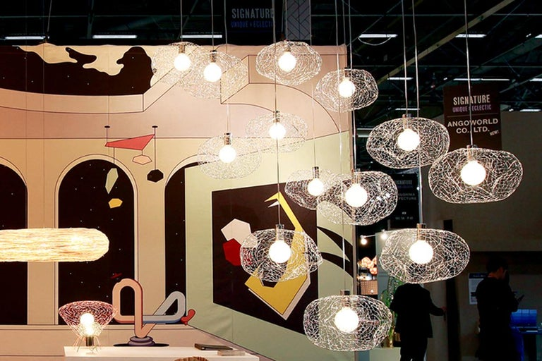 Cloud Modern Pendant Light Within the Jewellery Series of Lighting by Ango For Sale 1