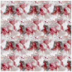 Cloudbusting Wallpaper in Marsala by 17 Patterns