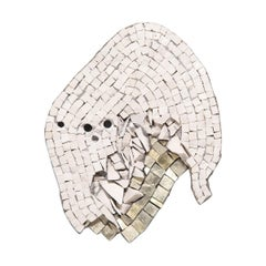 """Clouded 20.16"" Mosaic by Toyoharu Kii"