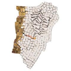 """Clouded 20.32"" Mosaic by Toyoharu Kii"