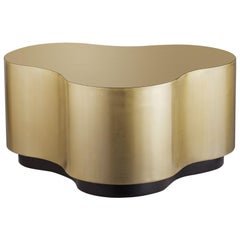Cloudy Brass Coffee Table
