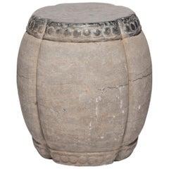 Clover Form Stone Stool