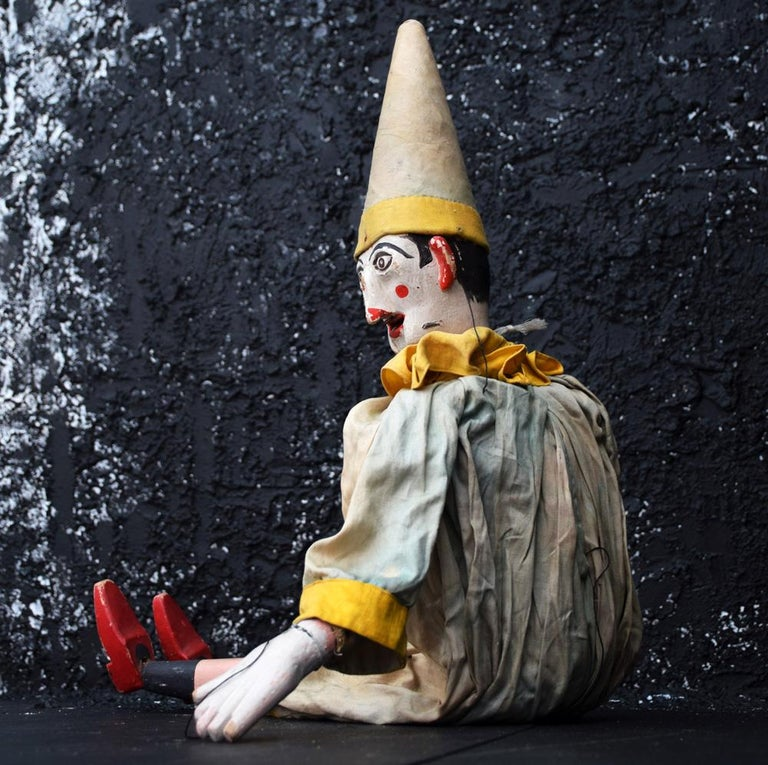 Mid-20th Century Clown Marquette For Sale