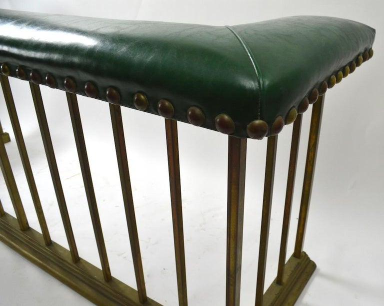 20th Century Club Bench Fireplace  Fender  For Sale