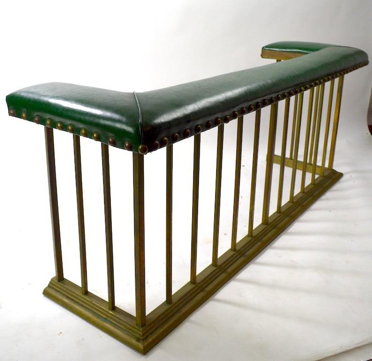 Club Bench Fireplace  Fender  For Sale 1