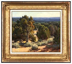 Clyde Aspevig Original Oil Painting On Board Signed Desert Western Landscape Art